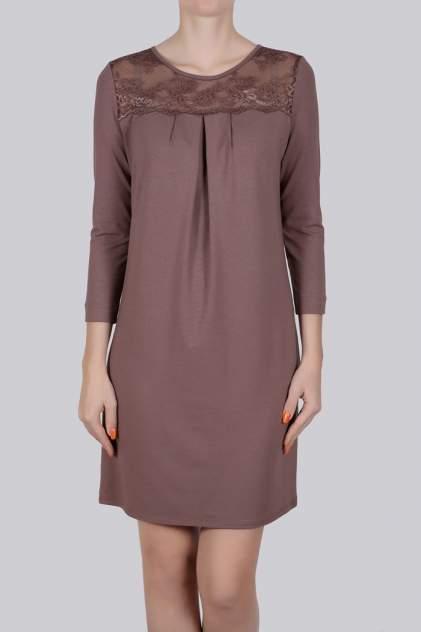 Домашнее платье Литвин 0603, коричневый