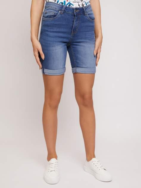 Джинсовые шорты женские Zolla z02124724Q02250D0 синие M