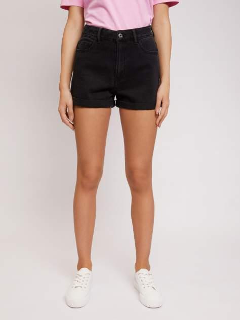 Джинсовые шорты женские Zolla z02124720L0329900 черные S