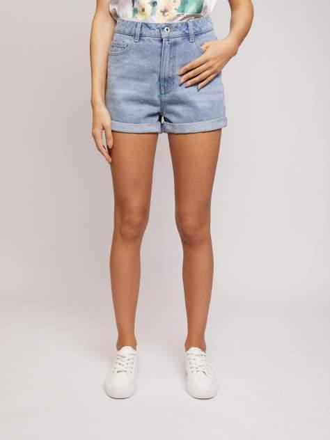 Джинсовые шорты женские Zolla z02124720L04255D0 голубые L