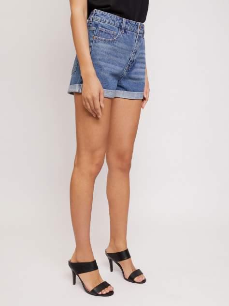 Джинсовые шорты женские Zolla z02124720L04250D0 синие L