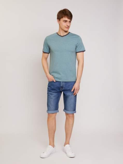Джинсовые шорты мужские Zolla z01124723U01250D0 синие 32