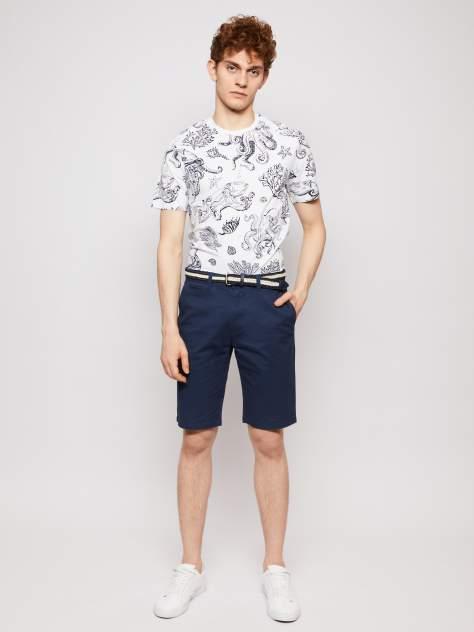 Повседневные шорты мужские Zolla z0112375661025000 синие 36