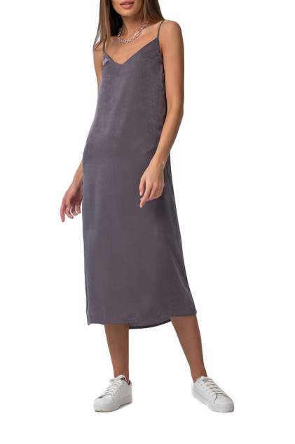 Платье-комбинация женское Fly 8162-11 серое 48