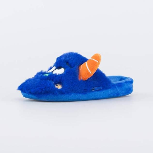 Тапочки детские Котофей, цв.синий