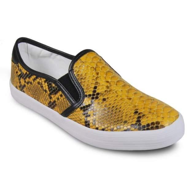 Слипоны женские Tamaris 24615-617 желтые 38 RU