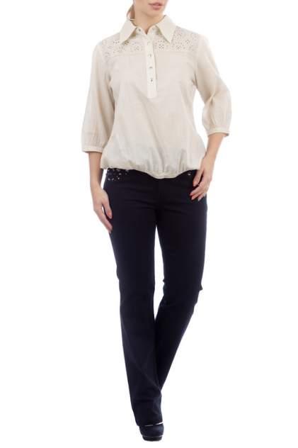 Блуза женская LAFEI-NIER T46889T-JS бежевая XL