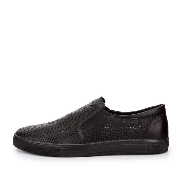Слипоны мужские quattrocomforto 915-007-E1L2,  черный