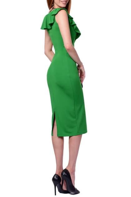 Платье женское FRANCESCA LUCINI F0712-6 зеленое 46 RU