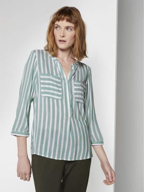 Женская рубашка TOM TAILOR 1016190, зеленый