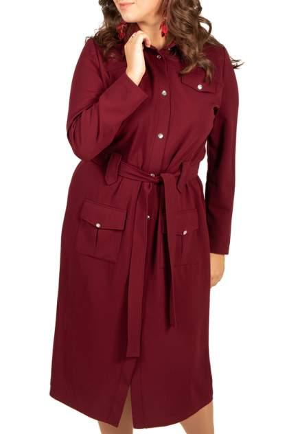 Платье женское BELUCHI Сафари красное 46 RU