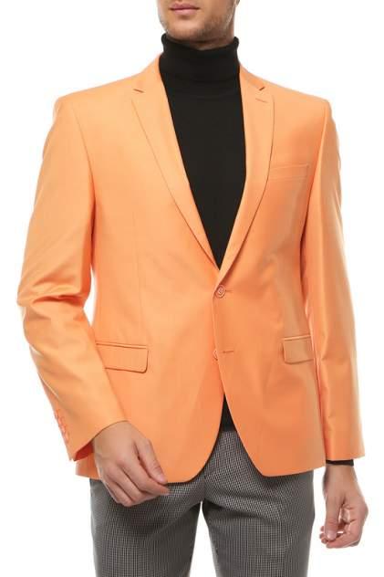 Пиджак мужской ABSOLUTEX 0141-1 RODERS оранжевый 52-176