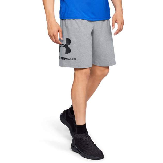 Шорты мужские Under Armour Sportstyle Cotton Graphic Shorts серые L