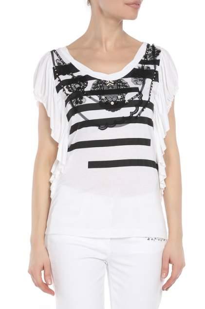 Блуза женская Didier Parakian 01211 Белая белая 38