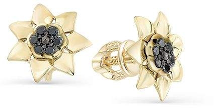Серьги женские из золота Master Brilliant 2-102-035-48, бриллиант