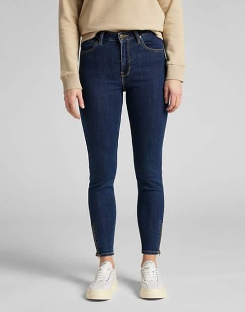 Женские джинсы  Lee Scarlett High Zip STONE TRAVIS, синий