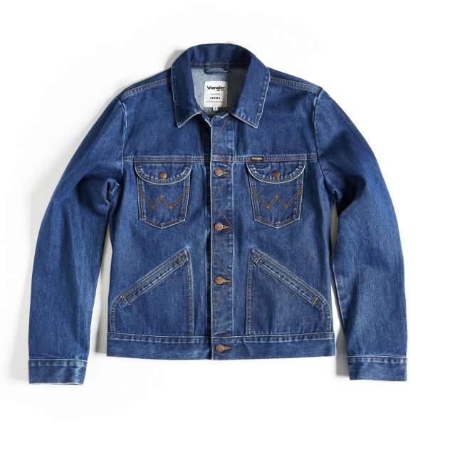 Куртка Wrangler 124WJ 6 MONTHS, синий