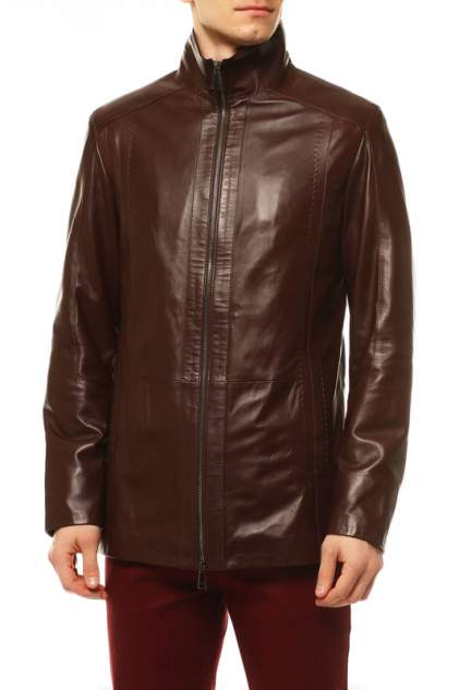 Кожаная куртка мужская VITTORIO VENETO 9020 коричневая 52