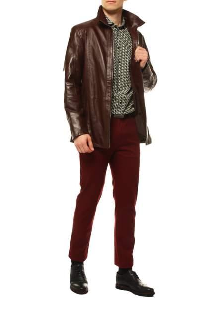 Мужская кожаная куртка VITTORIO VENETO 9020, коричневый