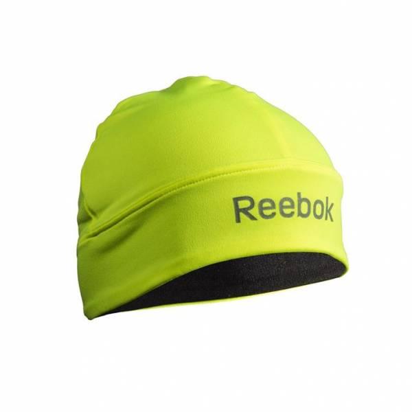 Reebok Шапка двухсторонняя Reebok Skull Cap черно-желтая