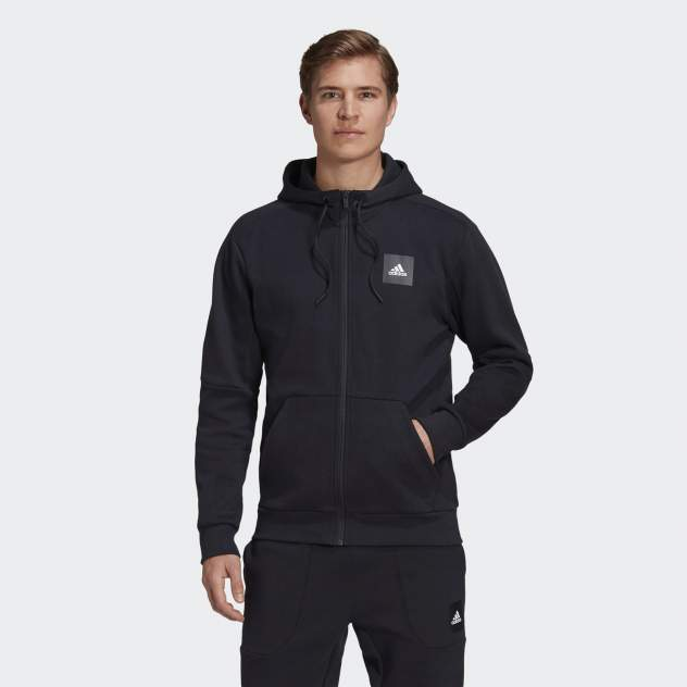 Толстовка мужская Adidas MUST HAVES STADIUM черная XL