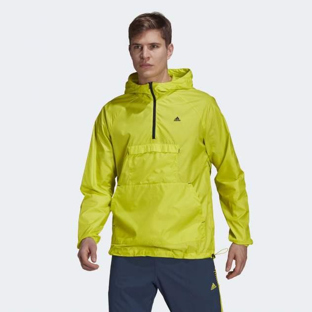 Ветровка унисекс Adidas M AT WB желтая M