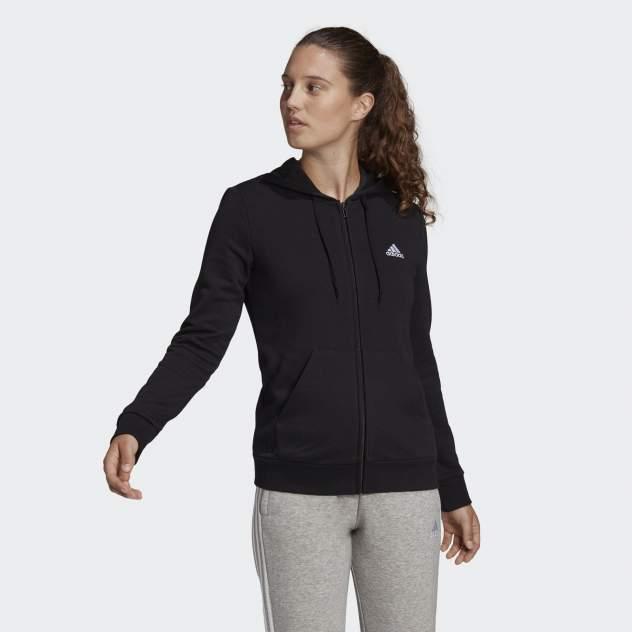 Толстовка женская Adidas W SL FT FZ HD черная M