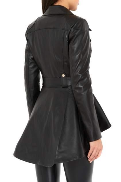 Кожаная куртка женская SACHA PACHA Z-3214 черная 36