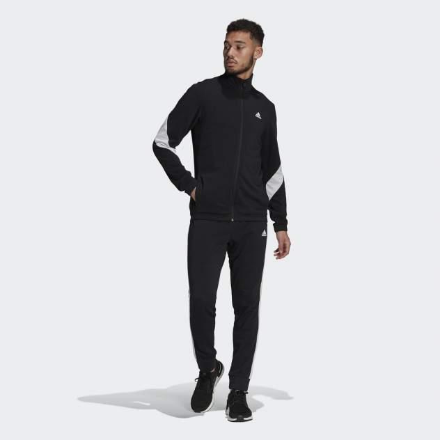 Мужской костюм Adidas M COTTON TS, черный