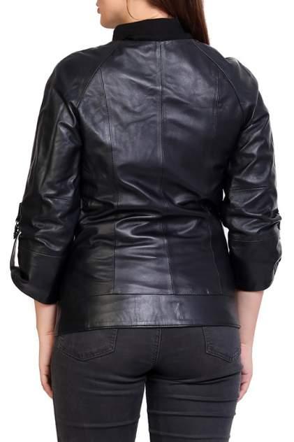 Кожаная куртка женская EXPO FUR S.86 синяя 38