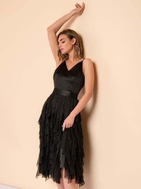 Вечернее платье женское 1001dress 0132101-02391BK черное 40