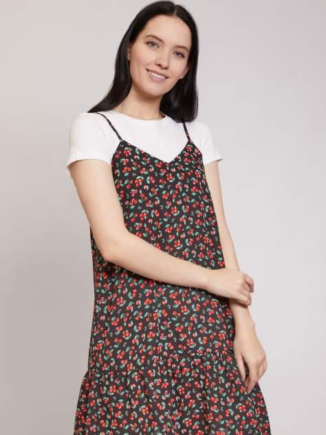 Платье-сарафан женское Zolla z22124825903399P0 черное XXL
