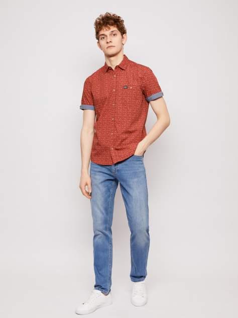 Рубашка мужская Zolla z21123227Y04130P0, красный