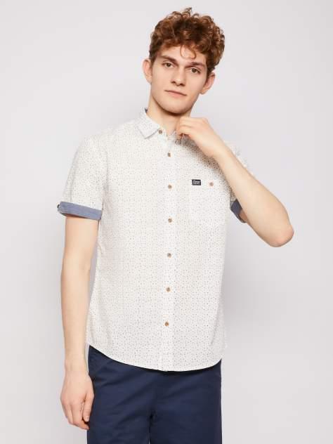 Джинсовая рубашка мужская Zolla z21123227Y04101P0 белая XL