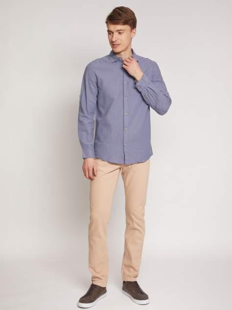 Джинсовая рубашка мужская Zolla z0112321590439000 серая XXXL