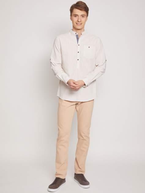 Рубашка мужская Zolla z01123215908119S0, бежевый