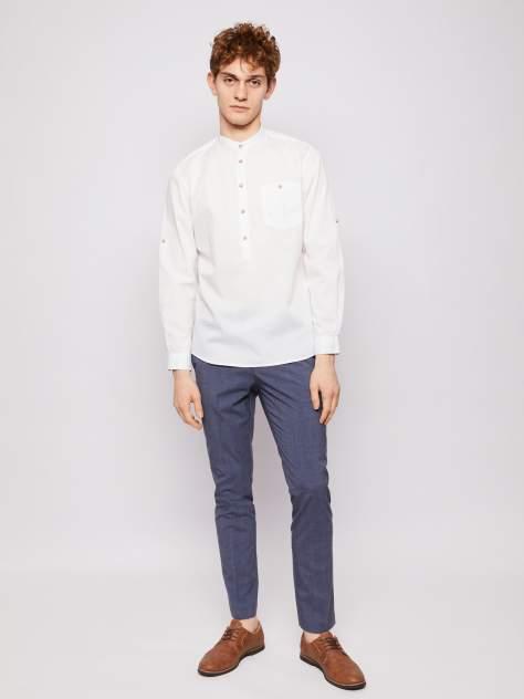 Джинсовая рубашка мужская Zolla z0112321590530100 белая M