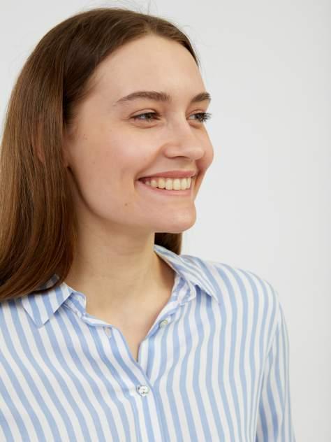 Рубашка женская Zolla z22123116226351P0 голубая XL