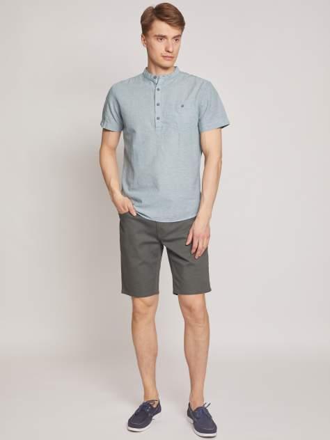 Рубашка мужская Zolla z2112422590137000, зеленый