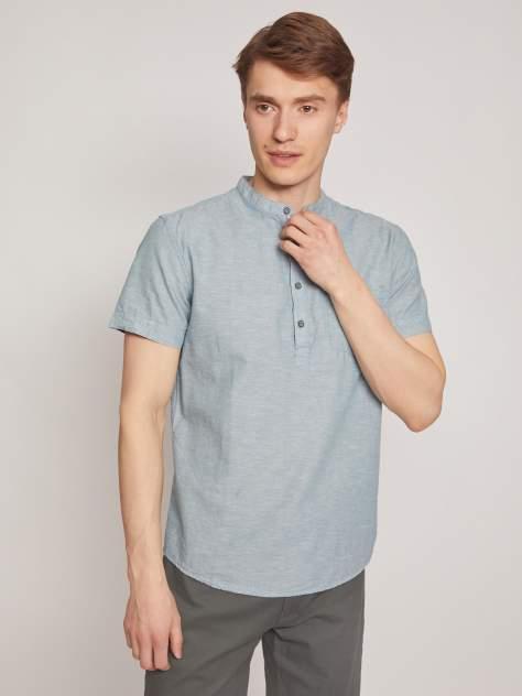 Джинсовая рубашка мужская Zolla z2112422590137000 зеленая L