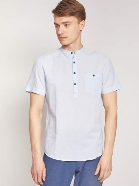 Джинсовая рубашка мужская Zolla z2112422590135100 голубая M
