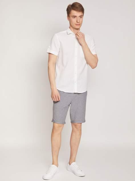 Джинсовая рубашка мужская Zolla z0112422590130100 белая XXXL