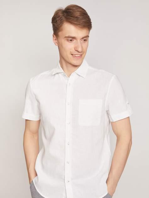 Джинсовая рубашка мужская Zolla z0112422590130100 белая M