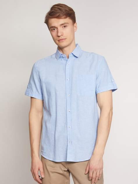 Джинсовая рубашка мужская Zolla z0112422590135100 голубая XXXL