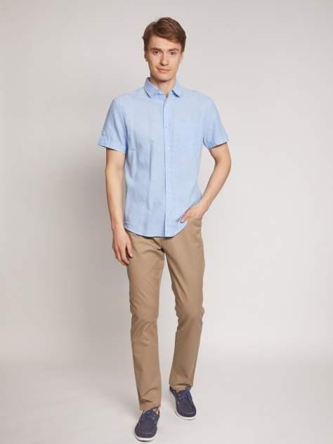 Джинсовая рубашка мужская Zolla z0112422590135100 голубая M
