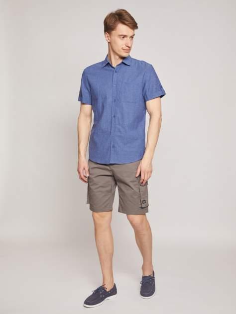 Джинсовая рубашка мужская Zolla z0112422590135000 синяя M