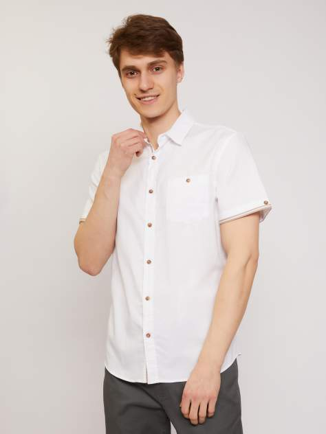 Рубашка мужская Zolla z21124220605101J0, белый