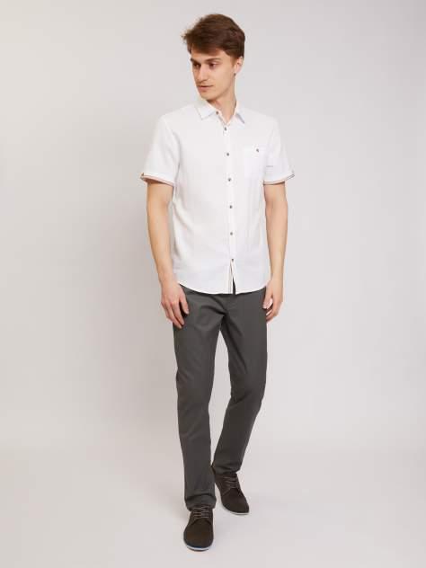 Джинсовая рубашка мужская Zolla z21124220605101J0 белая M