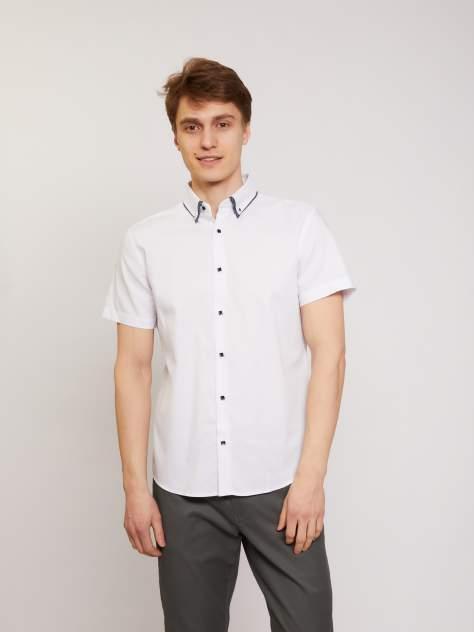 Джинсовая рубашка мужская Zolla z01124224R04301J0 белая M
