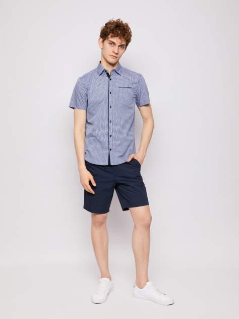 Джинсовая рубашка мужская Zolla z01123220607350P0 синяя XL